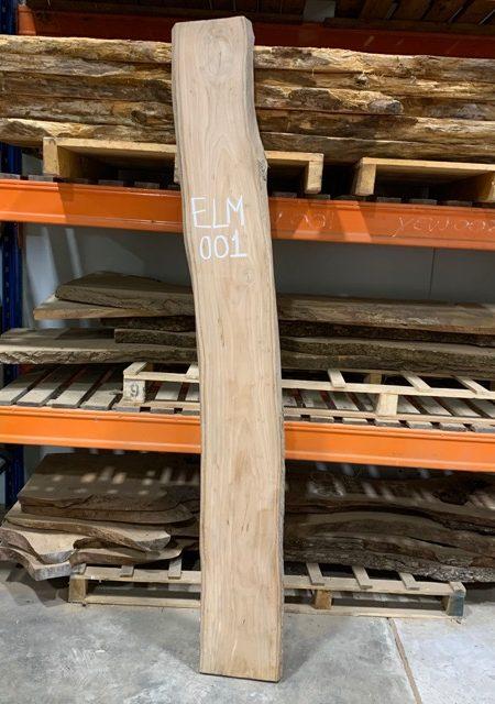 Elm timber plank 001