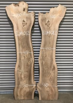Elm 012 book matched pair