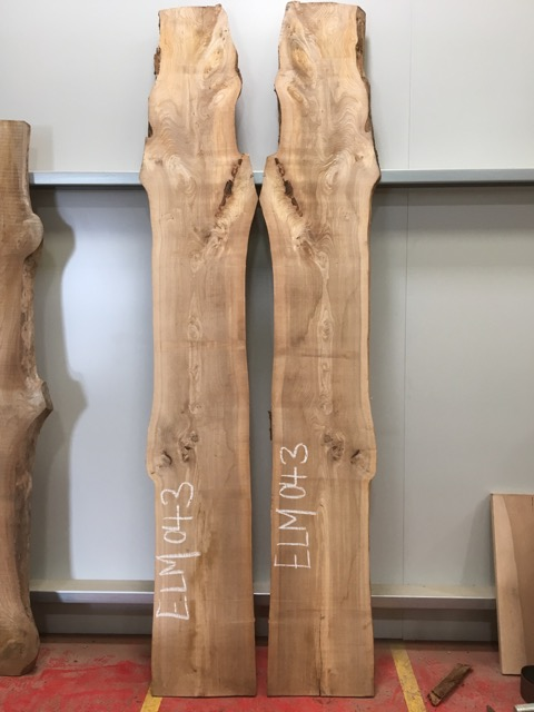 Elm #043 (Book Matched Pair)