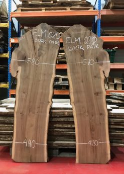 Elm 020 book matched pair