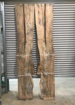 Elm timber 013 book matched pair