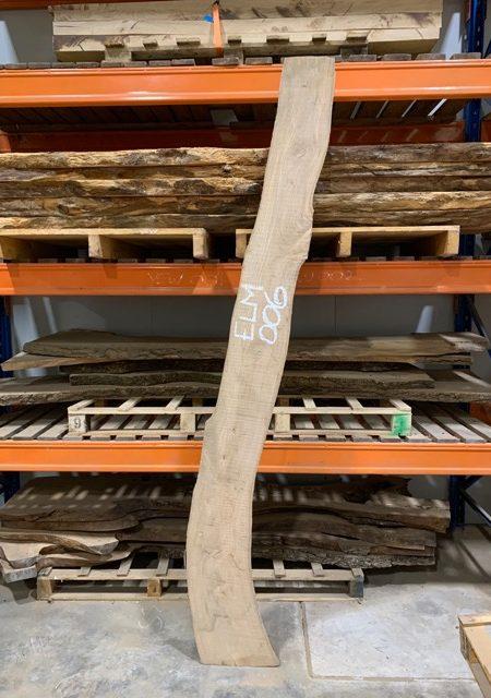 Elm timber plank 006