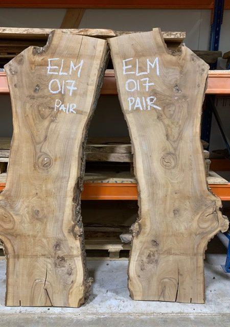Elm timber plank 017