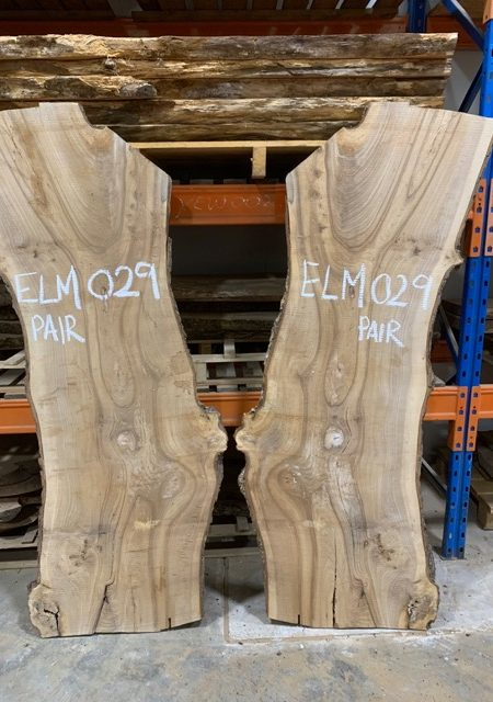 Elm 029 (Book Matched Pair)