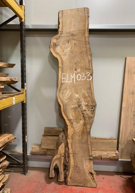 Elm timber plank 033a