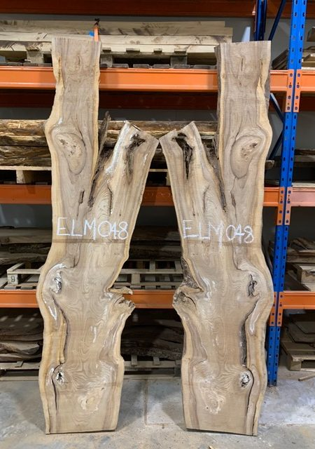 timber supply east ssusex Elm #048 (Book Matched Pair)