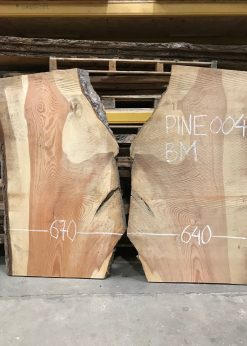 Pine #004 book matched pair